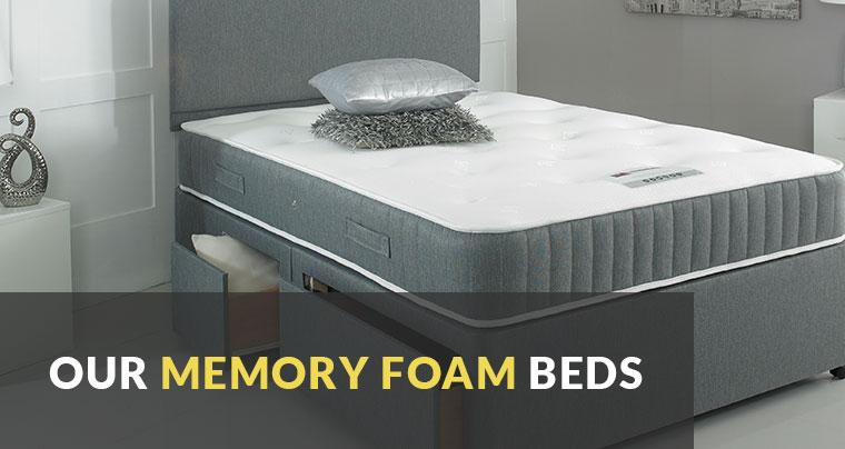 Memory Foam Divans